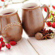 Mulled wine — Stock Photo #13154373