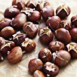 Edible chestnuts — Stockfoto