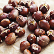 Edible chestnuts — Foto de Stock