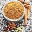Gingerbread spices - Stock Photo