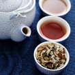 Aromatic tea - 图库照片