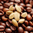 Coffee beans with cardamom - Foto Stock