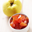 Stock Photo: Quince confiture