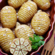 Fried potatoes - Foto de Stock