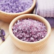 Lavender bath salt — Stock Photo #18415853