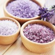Lavender bath salt — Stock Photo #18415861