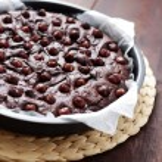 Hazelnuts brownie — Stock Photo #20464931