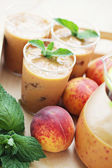 Peach coctail — Stock Photo