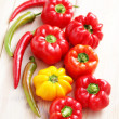 Colored peppers — Stock Photo #31301037
