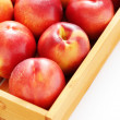 Box of nectarines — Stock Photo #32821409