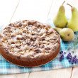 Cake with pears  — Stock Photo