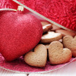 Gingerbread hearts — Stock Photo #34709743