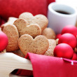 Gingerbread hearts — Stock Photo #34709759