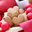 Gingerbread hearts — Stock Photo #34709795