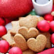 Gingerbread hearts — Stock Photo #34709845
