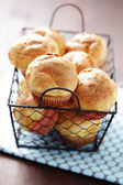 Crunchy popovers — Stock Photo