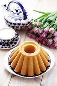 Traditional easter cake — 图库照片