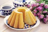 伝統的なイースター ケーキ — ストック写真