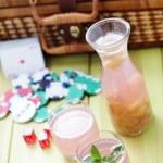Rhubarb juice — Stock Photo #38911143