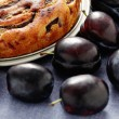 Plum pie — Stock Photo #39829349