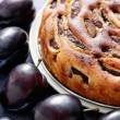 Plum pie — Stock Photo #39829407