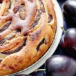 Plum pie — Stock Photo #39829413
