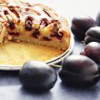 Stock Photo: Plum pie