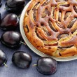 Plum pie — Stock Photo #39829431