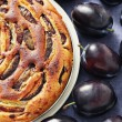 Plum pie — Stock Photo #39829433