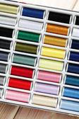 Sewing thread set — Stock Photo