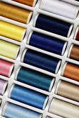 Sewing thread set — Stock Photo