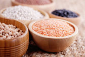 Different type of pulses — Stock Photo