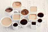 Kahve bardakları — Stok fotoğraf