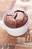 Chocolate fondant — Stock Photo