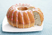 Poppyseed Easter cake — Stock Photo