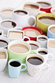 Lots of coffee cups  — Foto Stock
