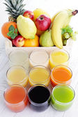 Fruity juice - drink and beverages — Stock Photo