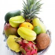 Fresh tropical fruits — Stock Photo #47704371