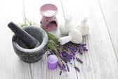 Herbal compress balls — Stock Photo