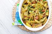Poulet rôti aux légumes — Photo