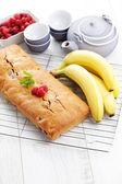 Banana bread — Stock Photo