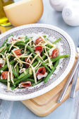 Ham and beans salad — Stock Photo