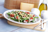 Ham and beans salad — Stock Photo
