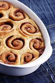Cinnamon buns — Stock Photo