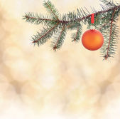 Background with christmas decoration — Stock Photo