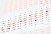 Lottery ticket — Stock Photo