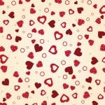 Vintage vector valentine — Stock Vector