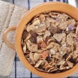 A bowl of muesli - Stock Photo