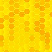 Fondo de nido de abeja — Vector de stock