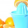 Preparing orange juice - Stock Photo